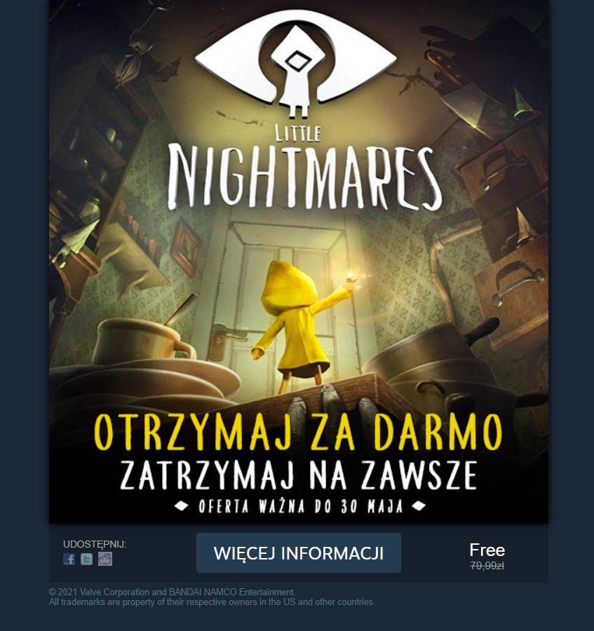Little Nightmares za darmo / fot. Steam