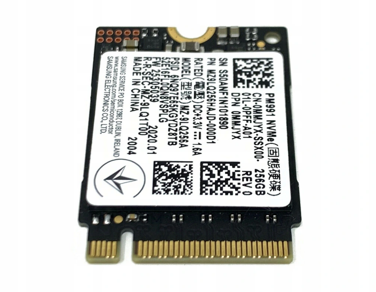 Samsung PN991 2230 256 GB