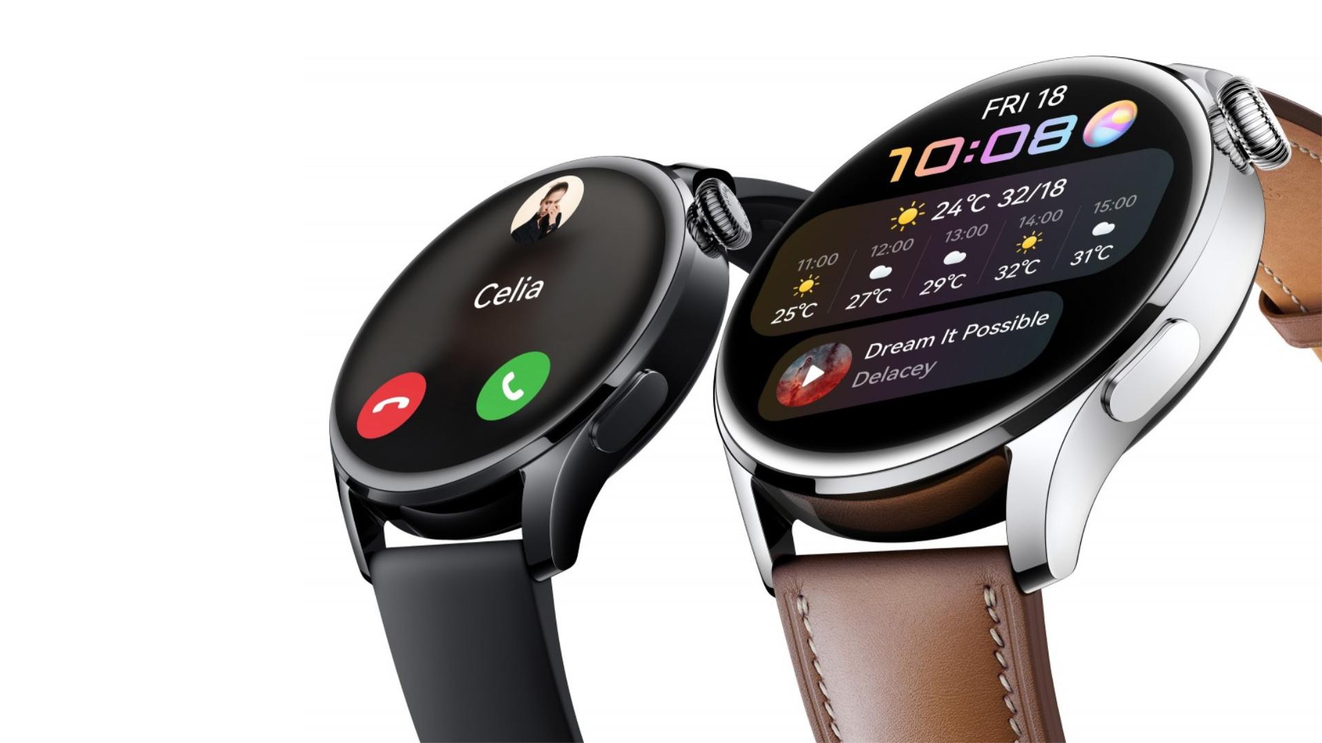 Huawei Watch 3 i Huawei Watch 3 Pro