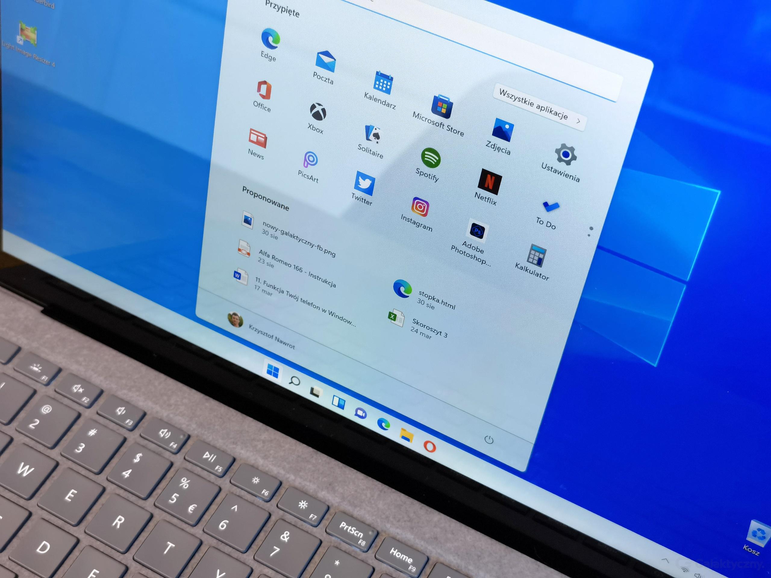 Microsoft Surface Laptop 4 z Windows 11