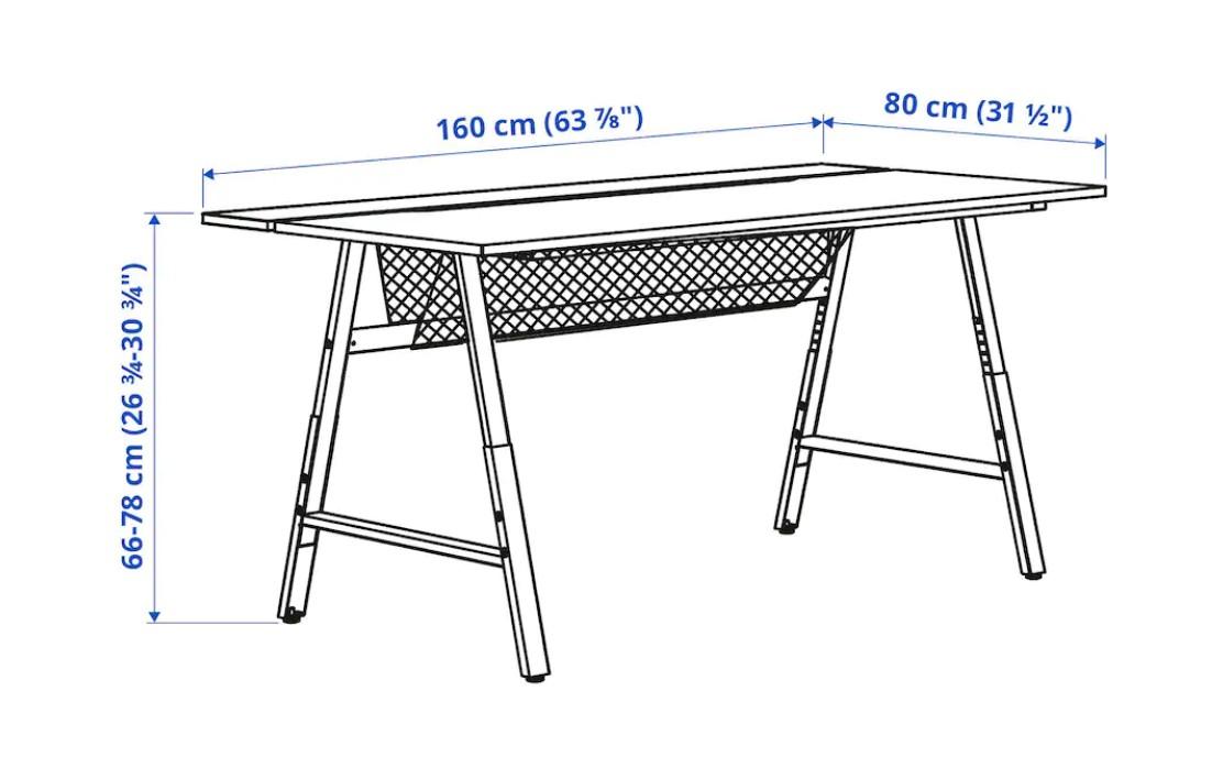 Biurko UTESPELARE / fot. Ikea